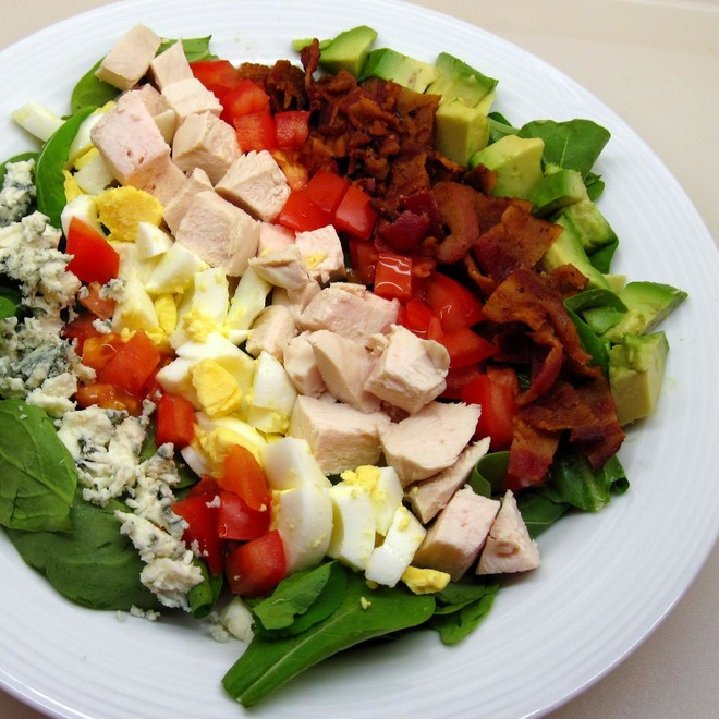 Cobb salad (from allrecipes)的做法