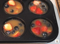 草莓蓝莓苹果冻(Fruit Jelly with Strawberry and Blueberry)的做法 步骤3