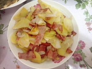 里昂那土豆 Lyonnaise Potatoes的做法 步骤6